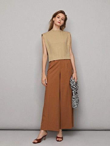 Jeline Solid Skirt