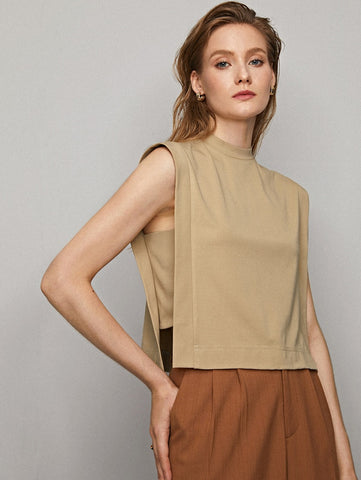 Lenny BOXY SLEEVELESS TOP