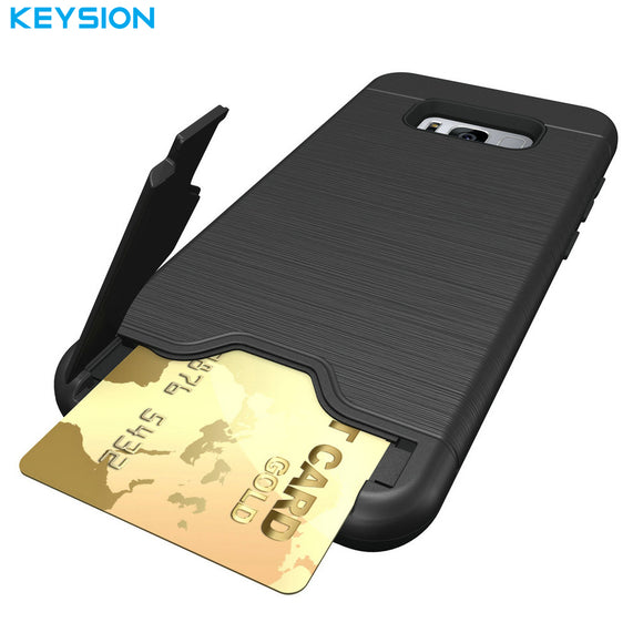 KEYSION Case for Samsung Galaxy S8 S8 Plus Back Cover Dirt Resistant Silicon Phone Bags Cases for Samsung S8 Dream Project Dream