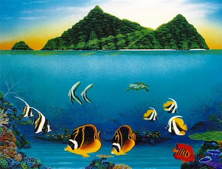 Reef Magic - Print by Darrell Hook