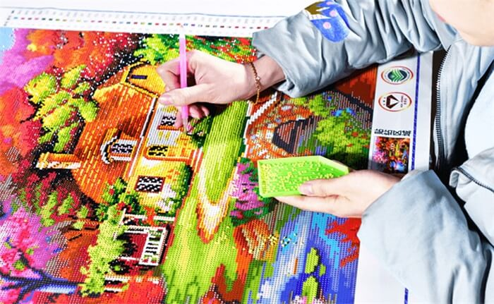 diamond painting kit