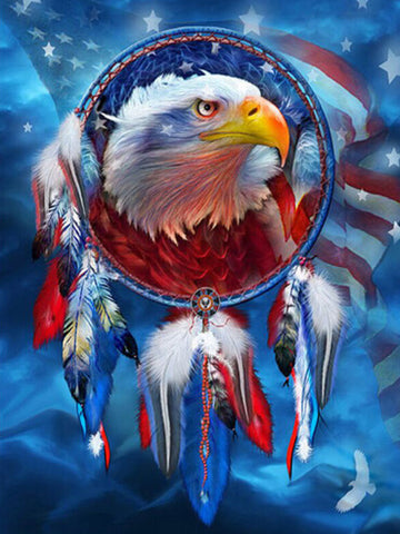 Diamond Painting American Dreamer Eagle - OLOEE