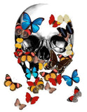 Diamond Painting Butterfly Skull - OLOEE
