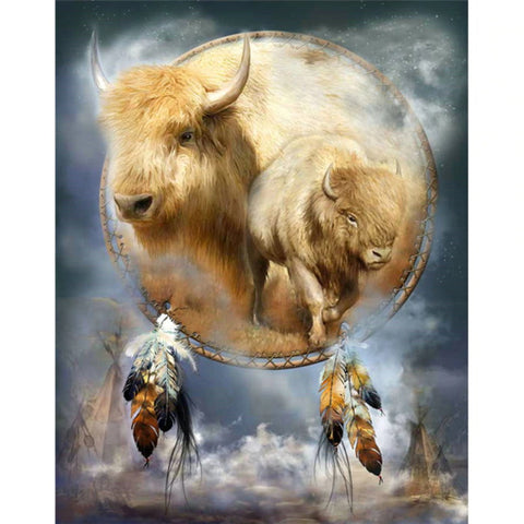 Diamond Painting Spirit of the White Buffalo - OLOEE