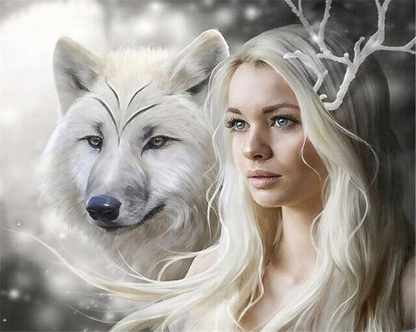 Diamond Oloee Wolf Queen - OLOEE