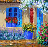 Diamond Painting Home Flowers - OLOEE
