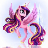 Diamond Oloee Flying Unicorn - OLOEE