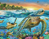 Diamond Painting Sea Turtle World - OLOEE