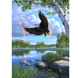 Diamond Painting Flying Eagle - OLOEE