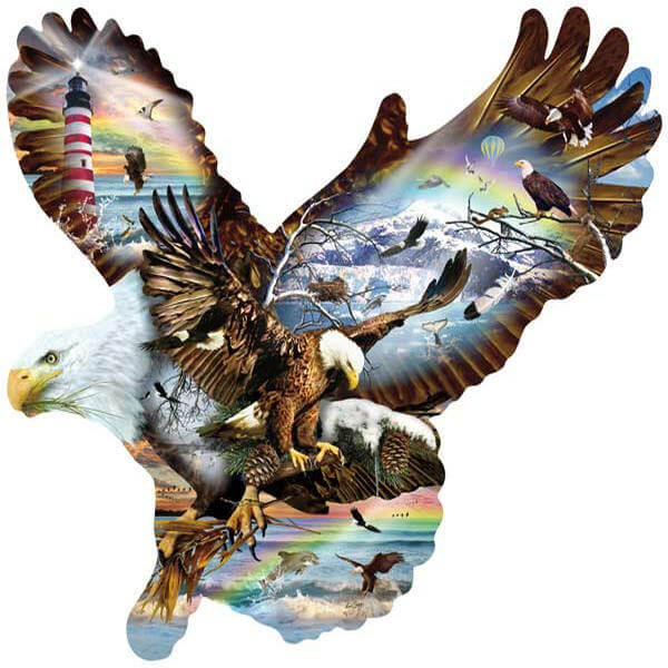 Diamond Painting Hunting Eagle - OLOEE