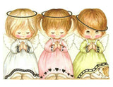 Diamond Painting Three Little Angel Girls Praying - OLOEE