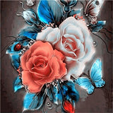 Diamond Oloee Flower Paintings - OLOEE