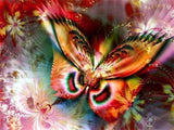 Diamond Painting Colorful Butterfly Animal - OLOEE