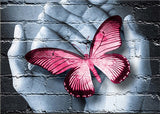 Diamond Oloee Offering Pink Butterfly - OLOEE