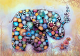 Diamond Painting Baby Elephant And A Mice - OLOEE