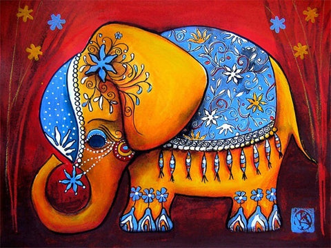 Diamond Painting Serving Elephant - OLOEE