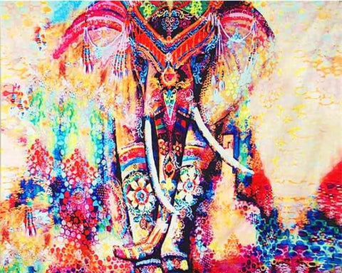 Diamond Painting Abstract Female Elephant - OLOEE