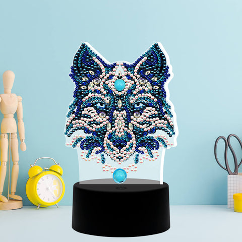 The Guardian Diamond Painting Lamp