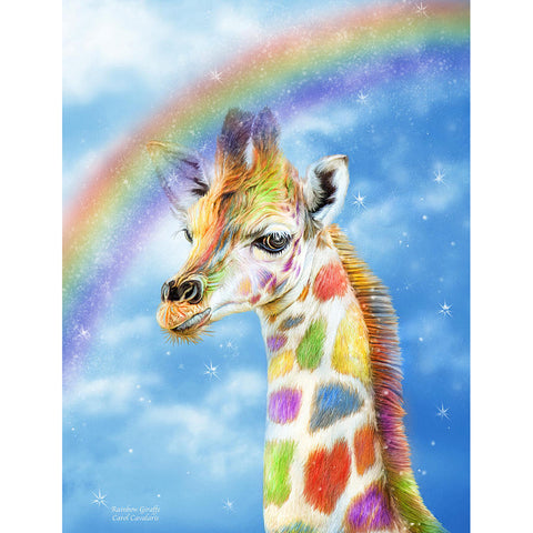 Diamond Painting Color Giraffe - OLOEE
