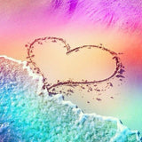Diamond Painting Heart On Beach - OLOEE