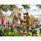 Diamond Painting Bird Flower Horse - OLOEE