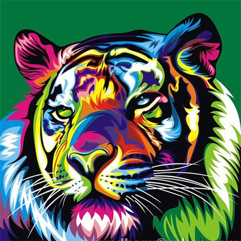 Diamond Painting Neo-Trad Tiger - OLOEE