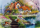 Diamond Painting MasterPieces Flower Cottages - OLOEE