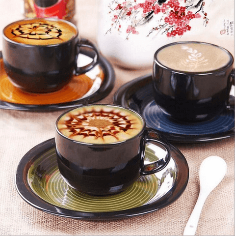 Diamond Painting Cappuccino Coffee Drink - OLOEE