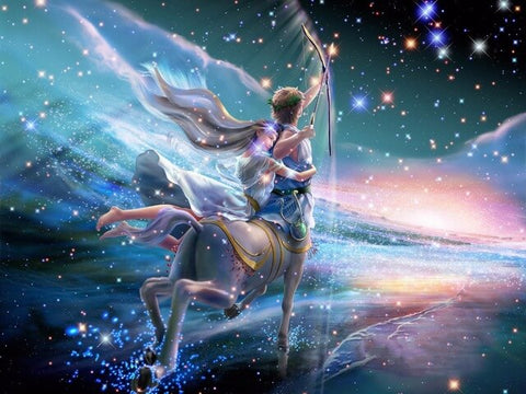 Diamond Painting Sagittarius Zodiac Art - OLOEE
