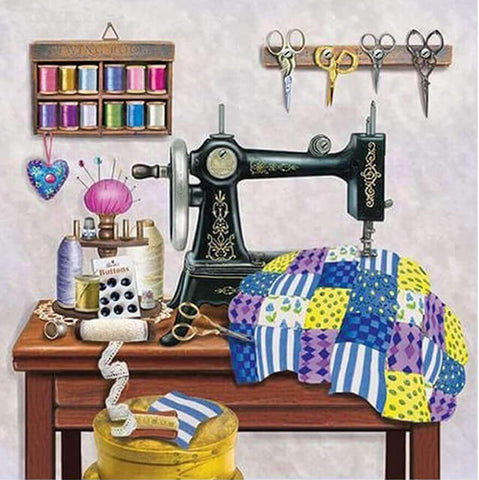 Diamond Painting Stitch Sewing Machine - OLOEE
