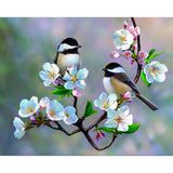 Diamond Painting Cherry Blossoms Birds - OLOEE