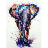 Diamond Painting Giant Elephant Painting - OLOEE