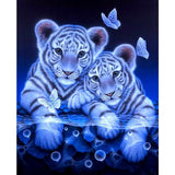 Diamond Painting Tiger Brothers - OLOEE
