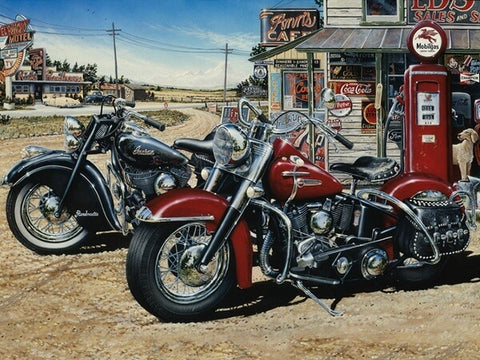 Diamond Painting Motorcycles Memory - OLOEE