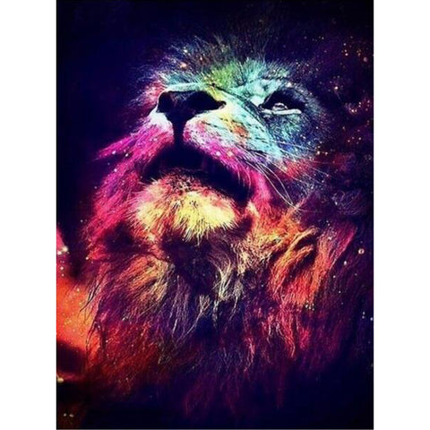 Diamond Painting Nebula Lion - OLOEE