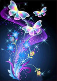 Diamond Painting Colorful Sparkle Butterfly - OLOEE