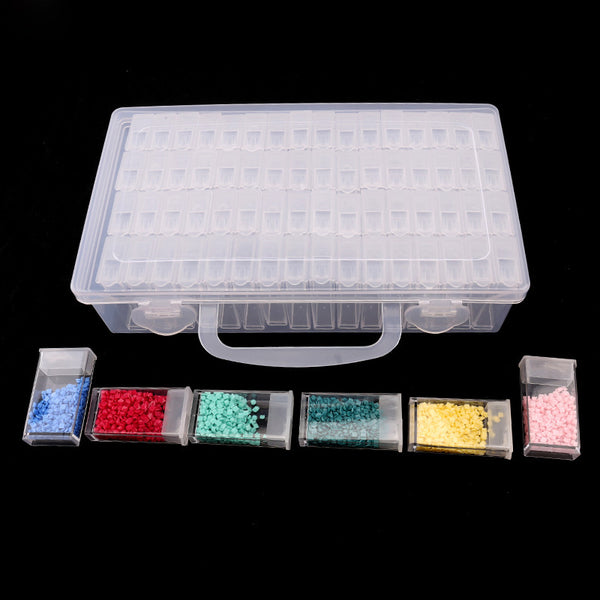 Diamond Painting 64 Grids Diamond Storage Box - OLOEE