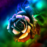 Diamond Painting Intense Rose - OLOEE