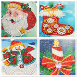 Diamond Painting Mega Value Christmas Cards 2 - 8x Pack - OLOEE