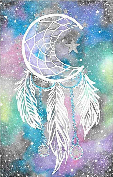 Diamond Painting Moon Star Dreamcatcher - OLOEE