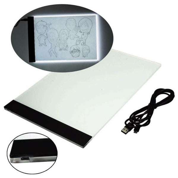 Diamond Painting Ultra-Thin A4 LED Light Pad - OLOEE