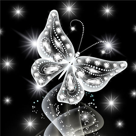 Diamond Painting Sparkle Butterfly - OLOEE