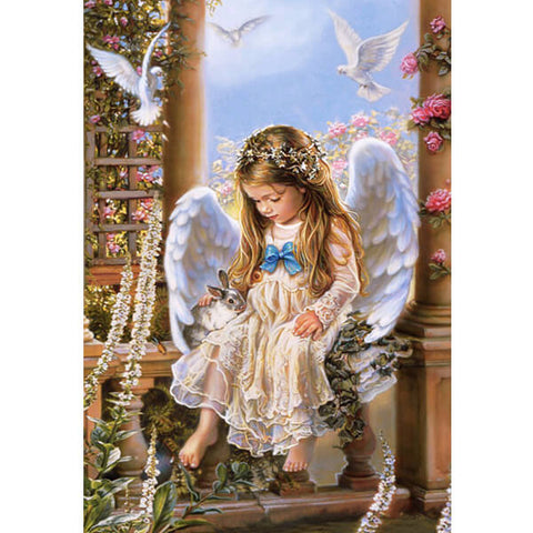 Diamond Painting Angel Artwork Painting Kit - OLOEE