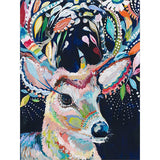 Diamond Painting Abstract Colorful Deer - OLOEE