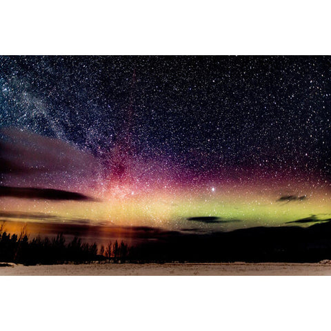 Diamond Painting Aurora Borealis Night Sky - OLOEE