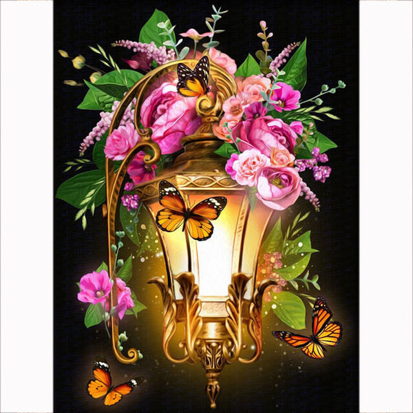 Diamond Painting Flower Light - OLOEE