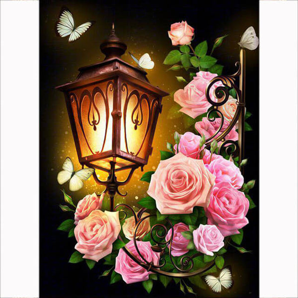 Diamond Painting Floral Light - OLOEE
