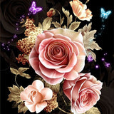 Diamond Painting 5D Flower Themed - OLOEE