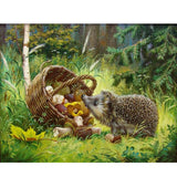 Diamond Painting Hedgehog Art - OLOEE
