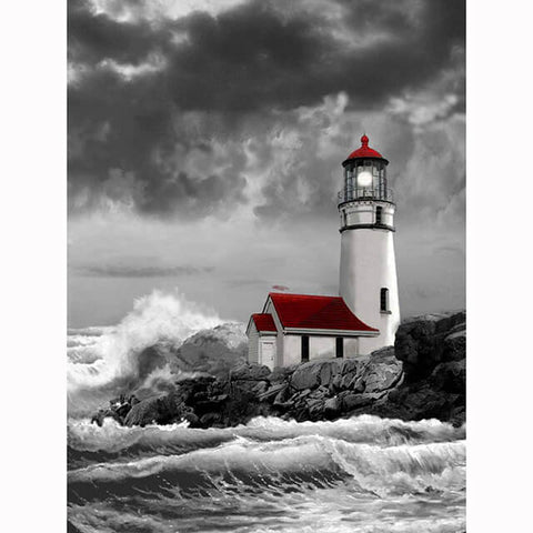 Diamond Painting Lighthouse Diamond Art - OLOEE
